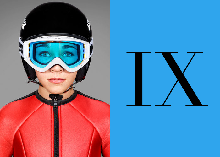 Mini Moodboard: Kiss the Sky. Women's Ski Jumping takes off at the 2014 Winter Olympics. And, three cheers for Title IX!