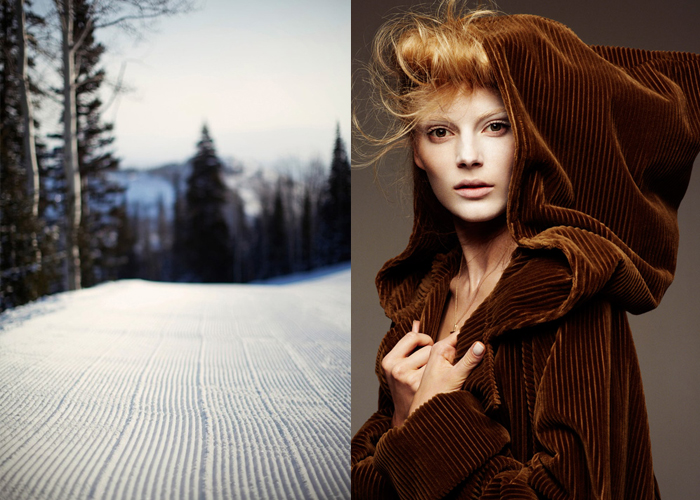 Mini Moodboard: Corduroy. Smooth sailing for perfect pistes or fall fashion.