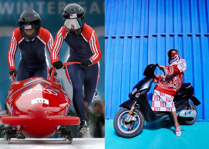 Mini Moodboard: Sleds. Women riding on their own terms (Photos by Journalist 1st class Preston Keres and Hassan Hajjaj)