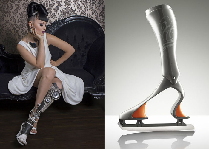 Mini Moodboard: Out on a Limb. The Future of Prosthetics in sport and fashion.