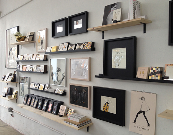 Garance Doré Stationery Wall