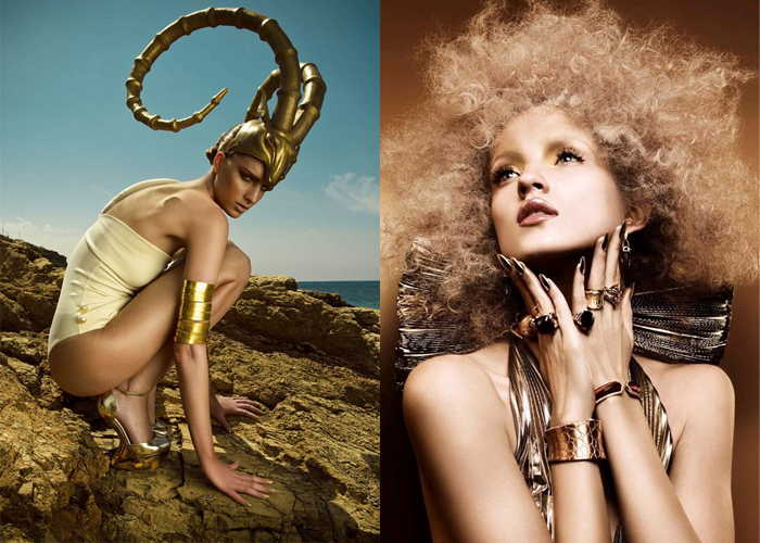 Mini Mood Board: Aries. The Ram and its Golden Fleece mark this sign of the Zodiac