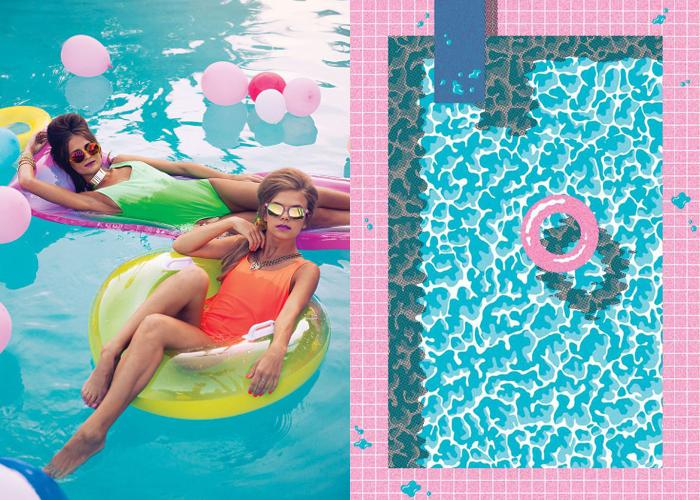 Mini Pool Party Mini Mood Board Pool Party