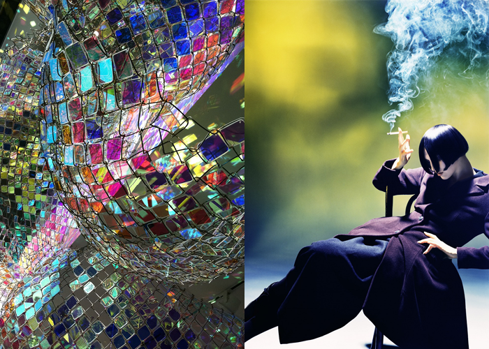 MINI MOOD BOARD: SMOKE & MIRRORS. Illusions created by artist Soo Sunny Park and photographer Nick Knight