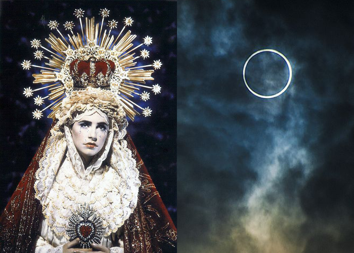 MINI MOOD BOARD: HALO. Photos by Pierre et Gilles and Ben Smethers. #nancyherrmann