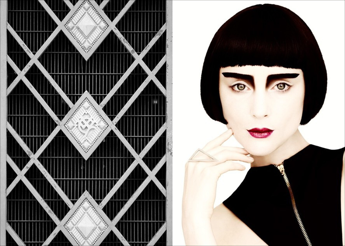 MINI MOOD BOARD: DECO. Photos by Richardr and Hugo Arturi for Bande des Quatres. #nancyherrmann #artdeco