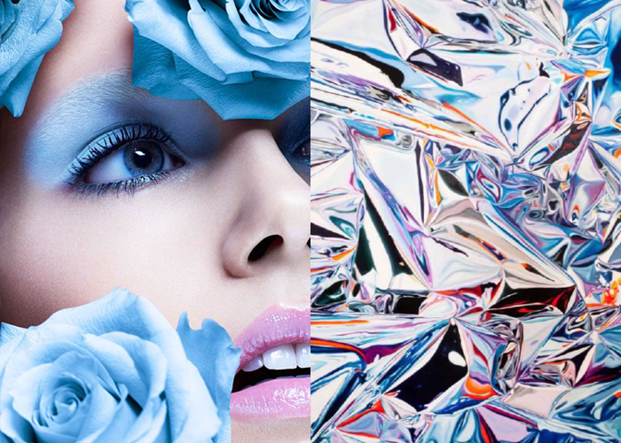 MINI MOOD BOARD: EYE CANDY. Photos by Felix Lammers with painting by Marco Reichert. #nancyherrmann #moodboard