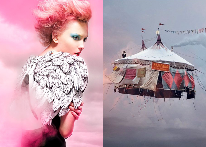 MINI MOOD BOARD: CIRQUE. Photos by Michael David Adams and Laurent Chehere #nancyherrmann #moodboard