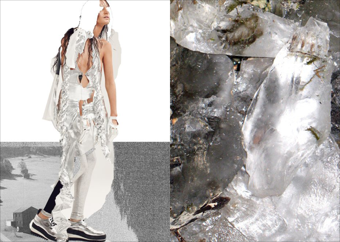 MINI MOOD BOARD: THAW. Photos by Mel Bles and Myriad Ways #nancyherrmann #moodboard