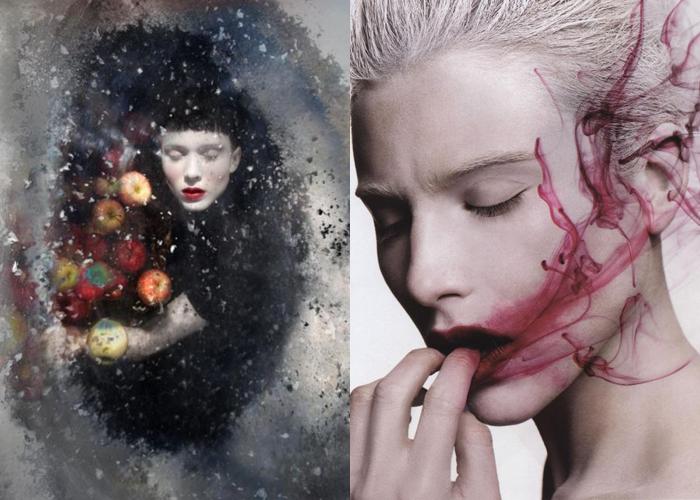 MINI MOOD BOARD: BITE. Photos by Darla Teagarden and Sølve Sundsbø #nancyherrmann #moodboard #bite