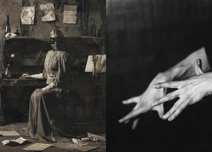 MINI MOOD BOARD: ÉTUDES. Photos by Igor Pyatinin and Germaine Krull. #nancyherrmann #moodboard #etudes
