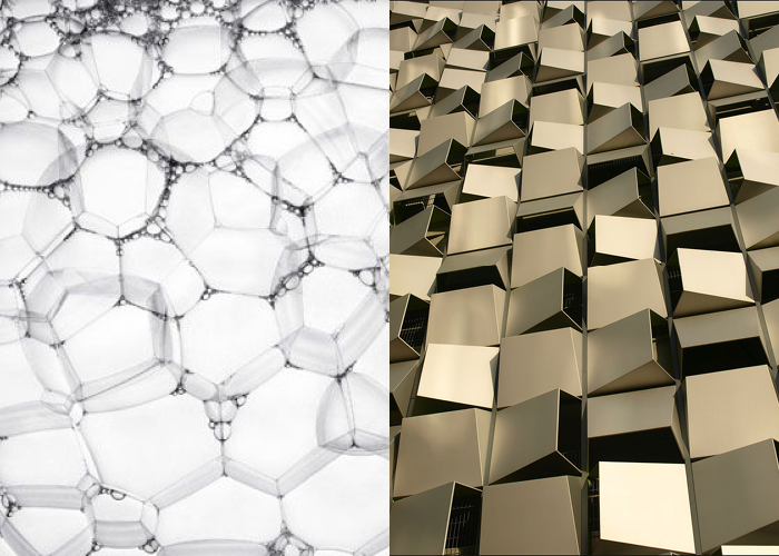 MINI MOOD BOARD: PARAMETRIC. Photos by Robin Broadbent and David Glaves. #nancyherrmann #moodboard #parametric