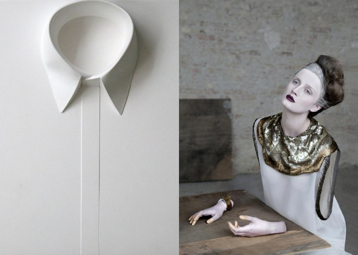 MINI MOOD BOARD: PORCELAIN. Art by Isaque Pinheiro with photo by Helen Sobiralski. Art-directed with @melaniebiehle #nancyherrmann #moodboard #porcelain