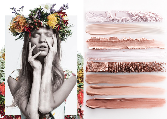MINI MOOD BOARD: BLUSH. Photos from Cameo The Label and Luke Kirwan. #nancyherrmann #moodboard #blush
