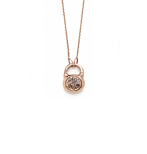 products padlock tunnel necklace vision