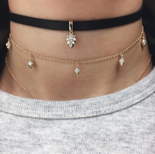 Carbon & Hyde - Pasha Hyde Choker Carbon & Hyde - Lily Choker