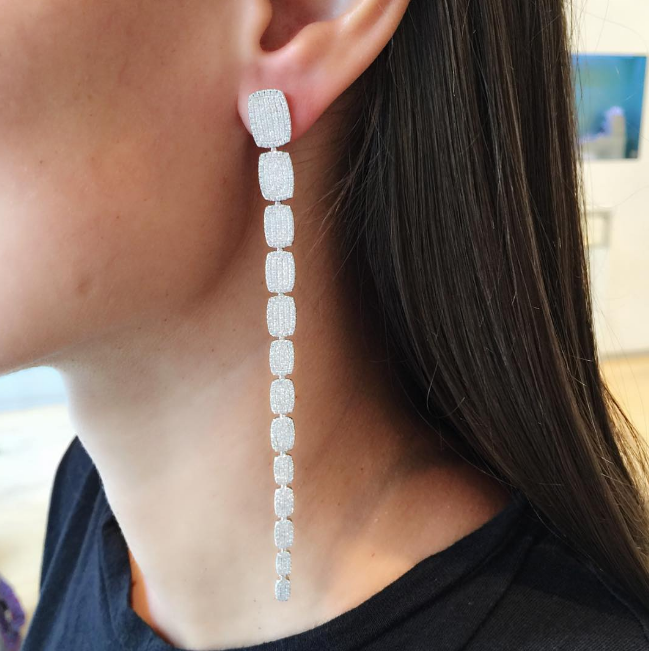 AS29 - Long Cascade Earrings