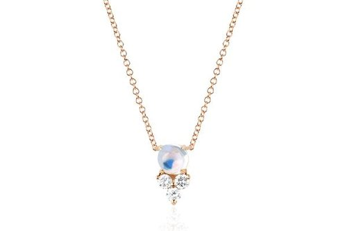 designs jewelry products blush moonstone necklace jewellery blushmoon saressa