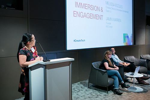 Immersion & Engagement with Melissa Eccles, Elastic.tv and Jamin Warren, Killer Screen