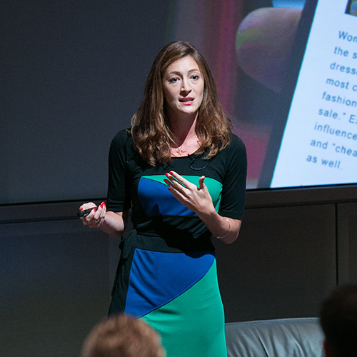 Elise Birkhofer at 4A's Createtech 2015