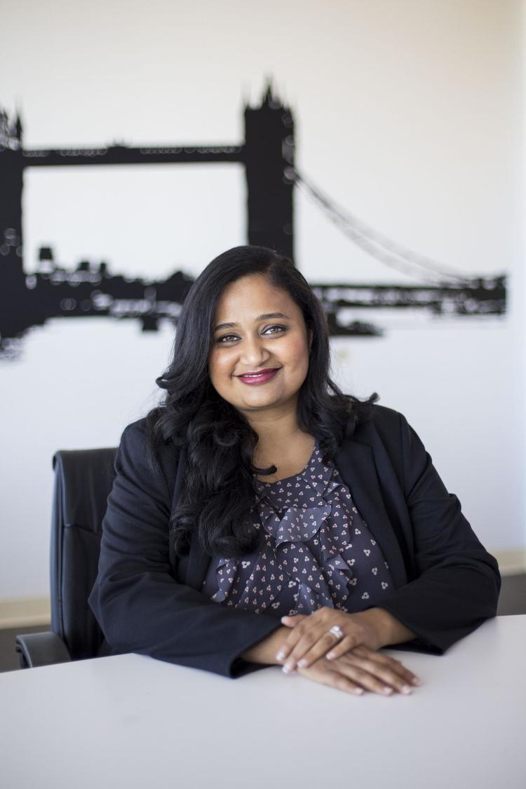 Kamakshi Sivaramakrishnan, Founder and CEO of Drawbridge