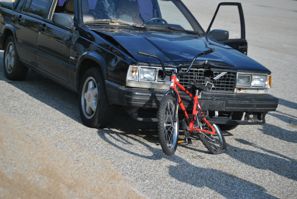 MATAI 2013 Fall Crash Conference: Twenty separate Car/Bicycle crashes were run.