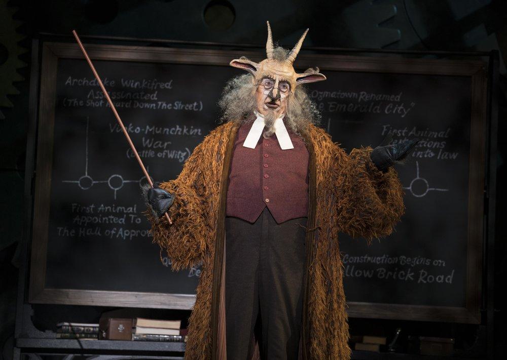 Tom Flynn as Doctor Dillamond in WICKED. Photo by Joan Marcus - 0184r.jpg