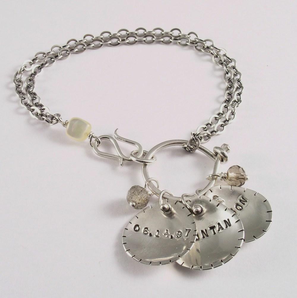Name Charm Bracelet