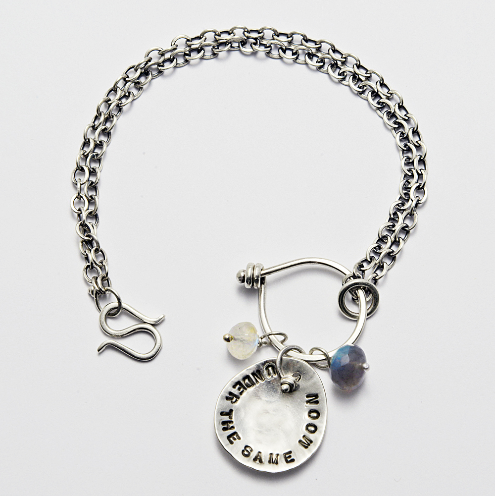 """under the same moon"" Bracelet"
