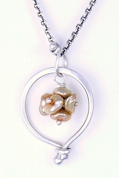 Keishi Pearl Cluster $128