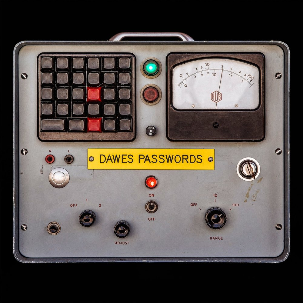DAWES  Passwords  Alto Saxophone
