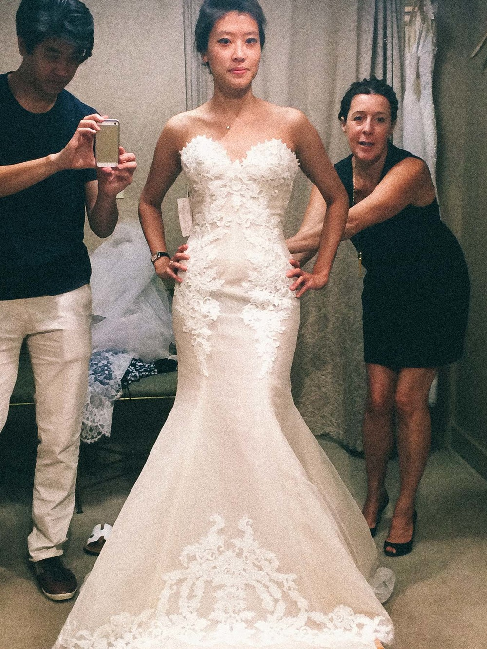 Best Wedding Dress Shopping With The Fiance U Jenny Musing Traditions