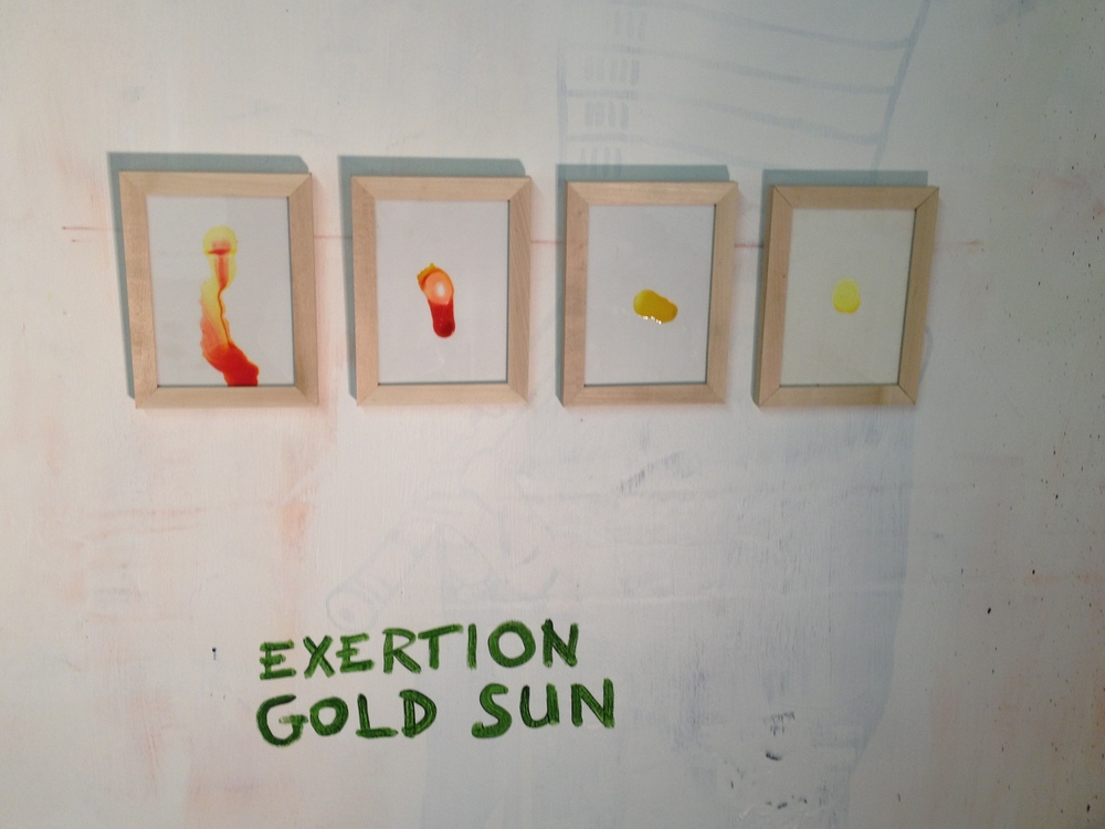 The Four Wounds by Exertion Gold Sun