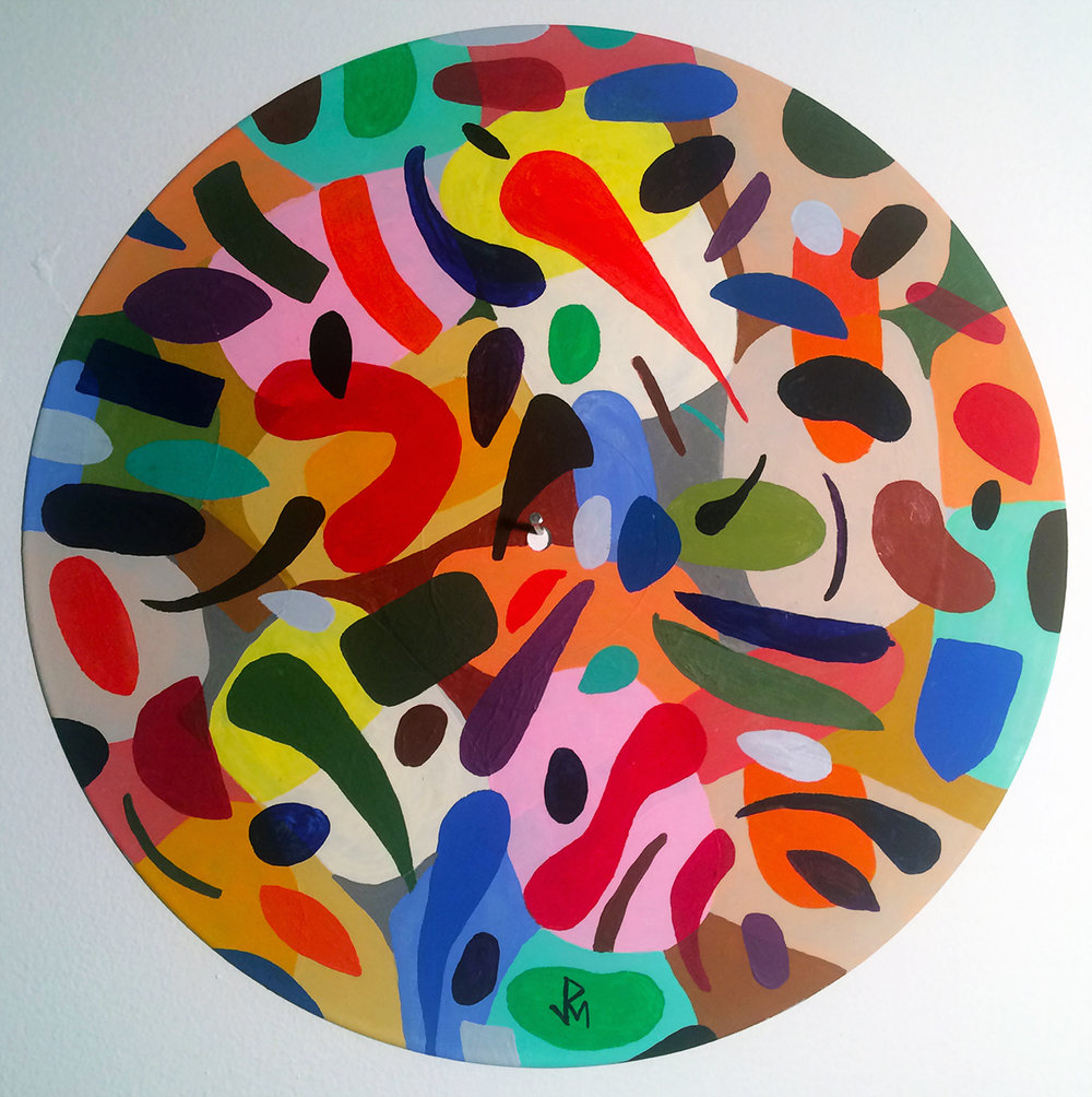 4D Vinyl Record Series