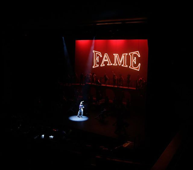 Hope you enjoyed those throwback pictures from Fame! We enjoyed the experience and can't wait for the next musical to begin! 📷: @maskerphoto