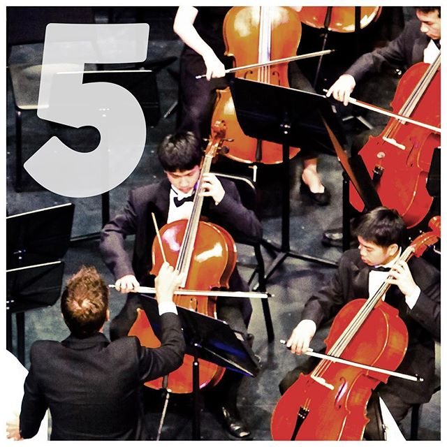 FIVE MORE DAYS TO SCHOOL Tune up your instruments it's almost time to start rehearsing for the fall concerts starting in October!