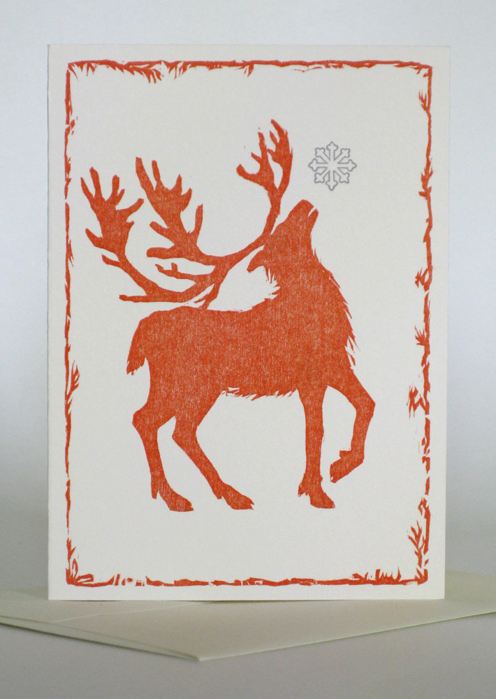 A1 Notecard: Red Deer