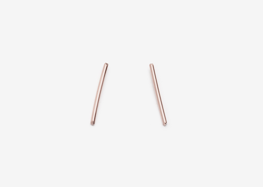 Mona Studs 14K Rose Gold