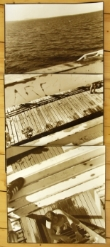 John O'Neil  Eastern Beach Boardwalk  Photograph 128x61cms (unframed $1,500)