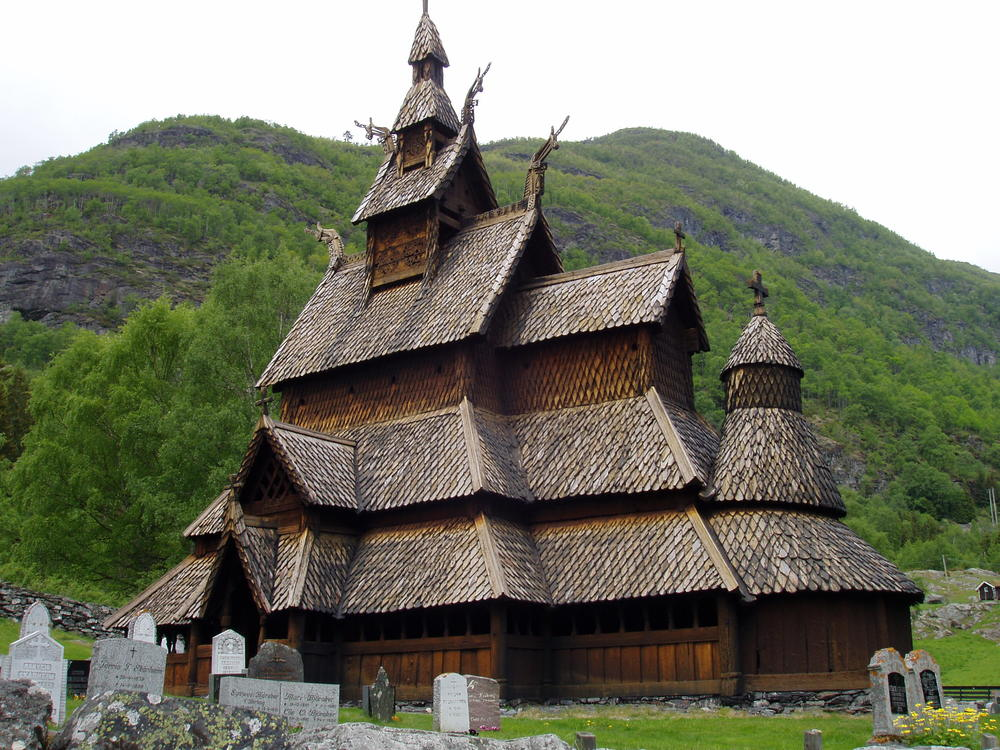Borgund Stave Church (built 1150), Norway