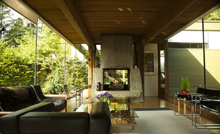 Smith Residence, Arthur Erickson