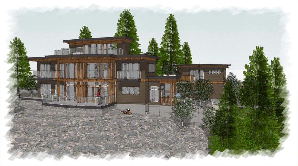 Marble Bay Residence, Cowichan Bay