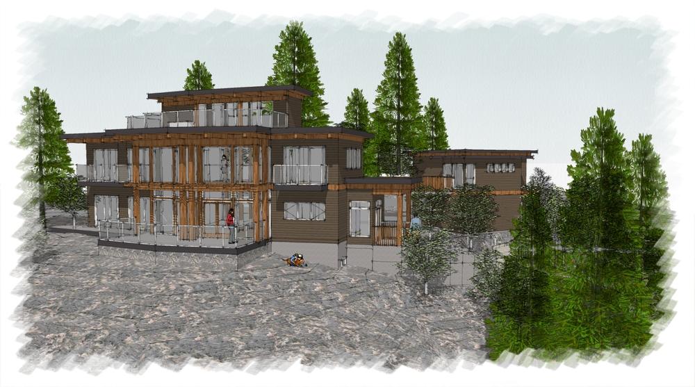 Marble Bay Residence, Cowichan Bay