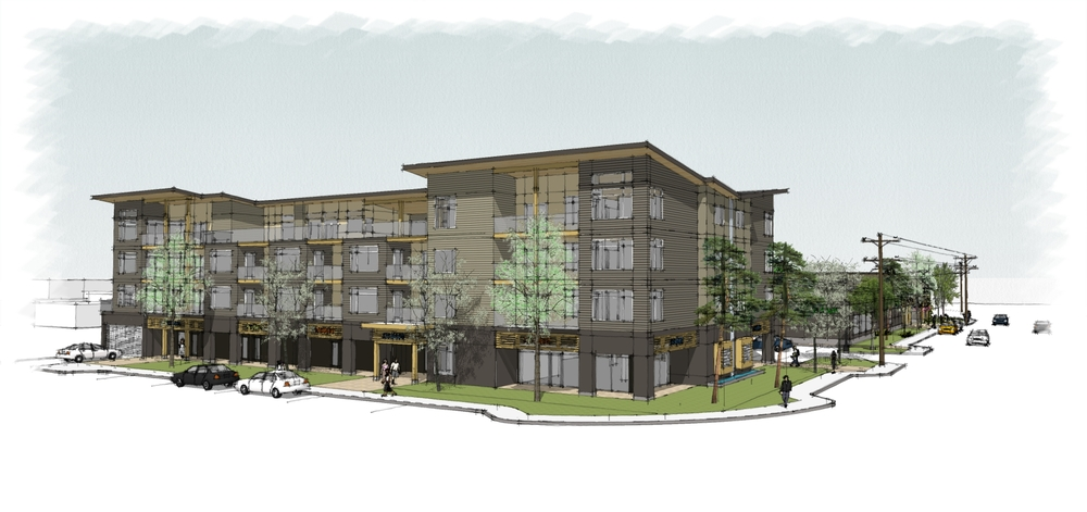Parksville Mixed Use - Apartment Building