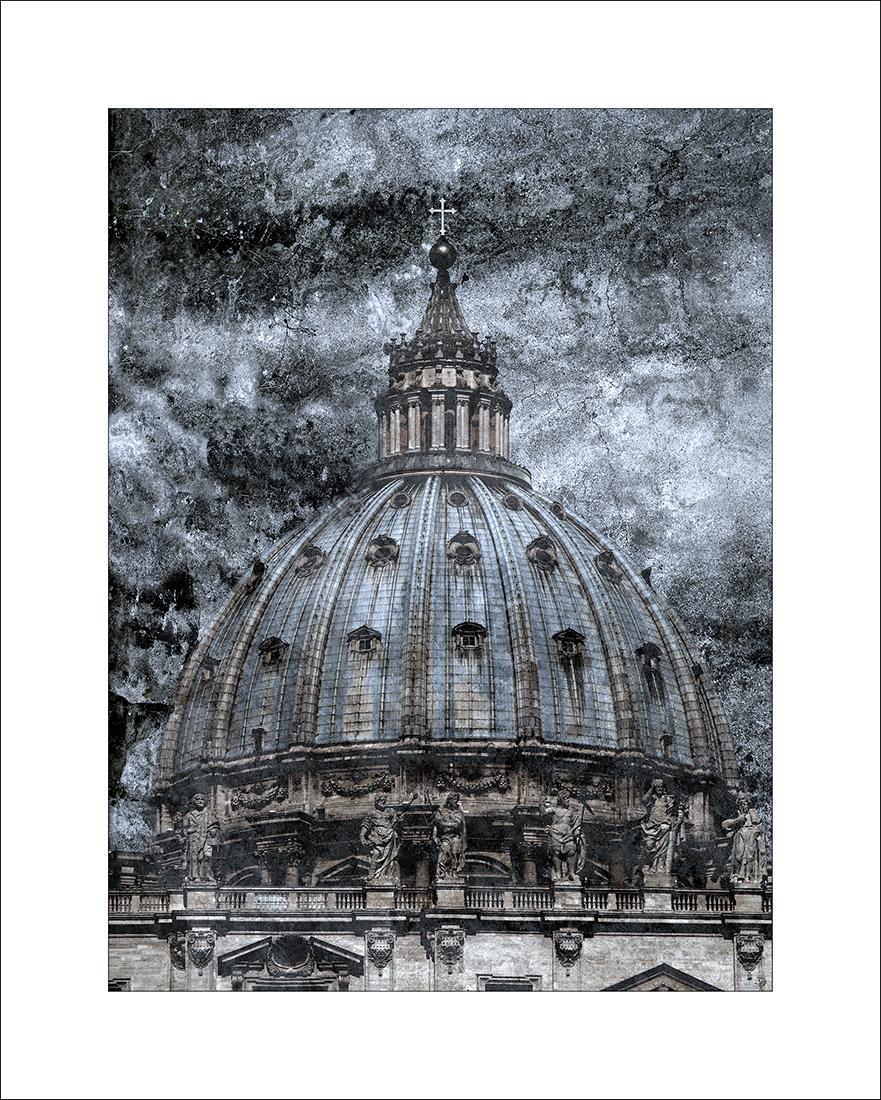 San Pietro blu.