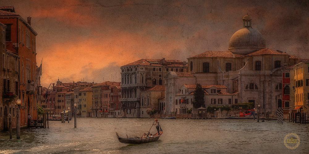 'Venice sunset'