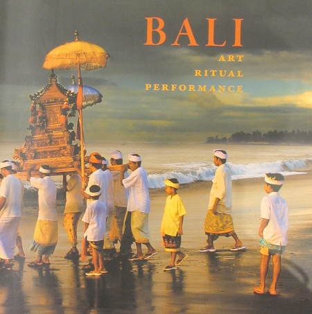 Cover of the book, Bali in Ritual, Culture, Performance.