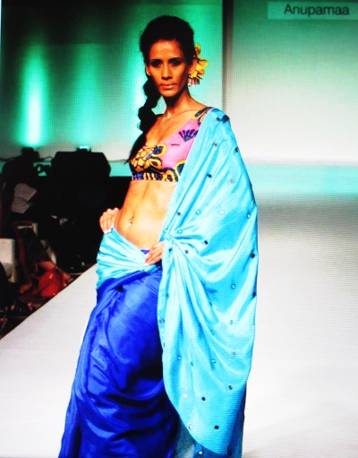More from India Resort Fashion Week from the Anupamaa collection, IRFWK, Goa.
