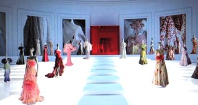 View of Valentino's Virtual Museum.