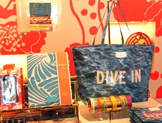 Pool style accessories at Kate Spade El Paseo.